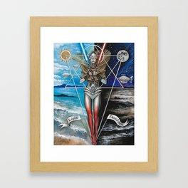 Eclipse 2 - Balance of 2 Swords Framed Art Print