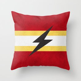 Flash of Color Throw Pillow