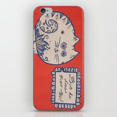 Dia de Los Meow-tos iPhone & iPod Skin