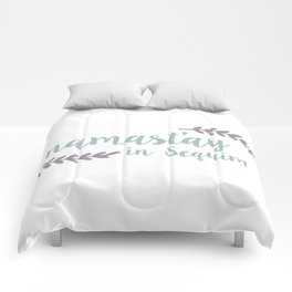 Namast'ay in Sequim Comforters