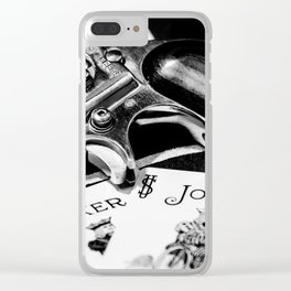 Joker's Wild Clear iPhone Case