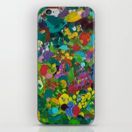 Flower Forest iPhone Skin