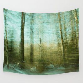 Moved By Trees ii Wall Tapestry