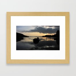 Dawn Raid Framed Art Print