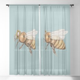 Honeybee Sheer Curtain
