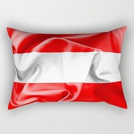 Austria Flag Rectangular Pillow