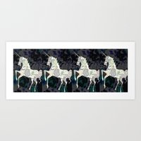 UNICORNS R REAL Art Print
