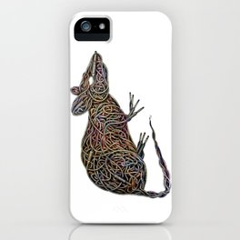 Techno Rat iPhone Case