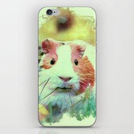 Painterly Animal - Guinea Pig 2 iPhone Skin