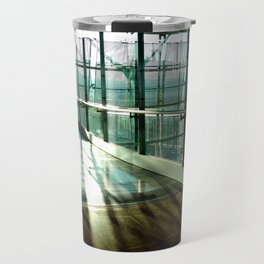 Boarding shadows Travel Mug