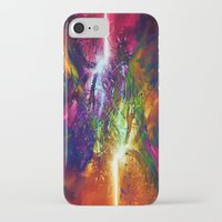 chaos iPhone & iPod Cases featuring Chaos by Robin Curtiss