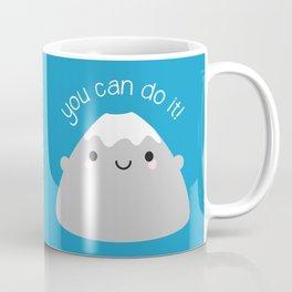 You Can Do It! Kawaii Mt Fuji Coffee Mug