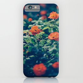 Twilight Roses - Moody Florals iPhone Case