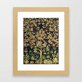 William Morris Tree Of Life Framed Art Print