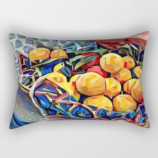 LEMON ZEST Rectangular Pillow