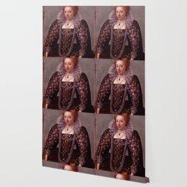 Portrait of Queen Elizabeth I Wallpaper