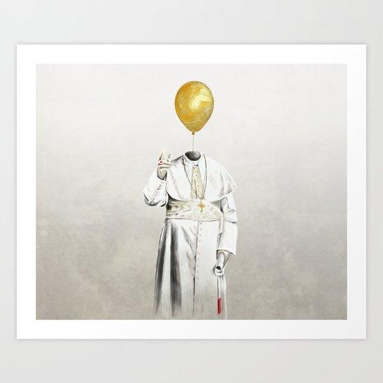The Pope - #4 Art Print