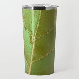 Sea Grape Leaf Travel Mug