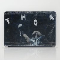 thor iPad Cases featuring Thor by André Joseph Martin