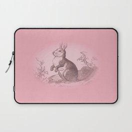 Bunny Rabbit {soft pink} Laptop Sleeve