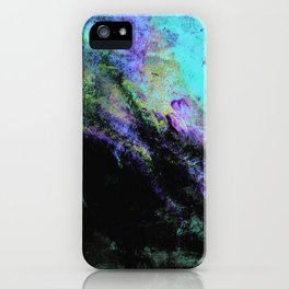 STORMY BLACK iPhone Case