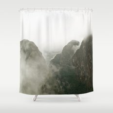 Among The Gods  Shower Curtain
