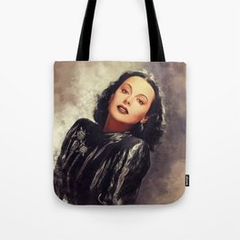 Hedy Lamarr, Hollywood Legend Tote Bag