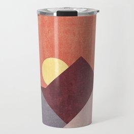 LANDSHAPES / Mountains - Sunset Travel Mug