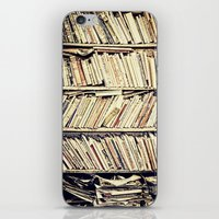 books iPhone & iPod Skins featuring books by PureVintageLove