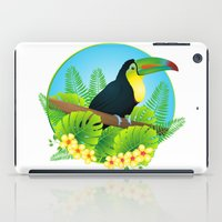 toucan iPad Cases featuring toucan by Li-Bro