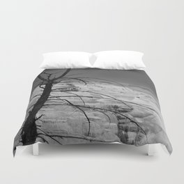 Mystical View Over Minerva Spring Duvet Cover