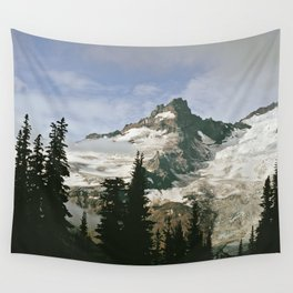 Mountain Snow Wall Tapestry