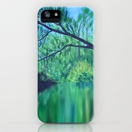 Backwaters iPhone Case