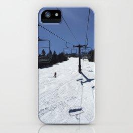 Chairlift Killington iPhone Case
