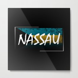 Nassau Metal Print
