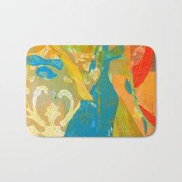 Tricolor Bath Mat