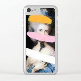 Brutalized Gainsborough 2 Clear iPhone Case