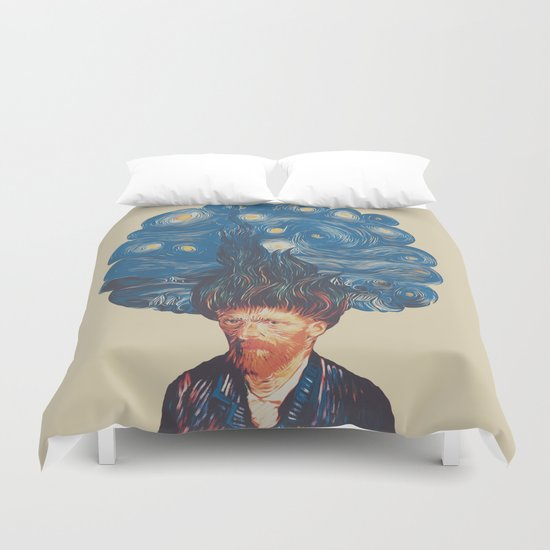 de hairednacht Duvet Cover