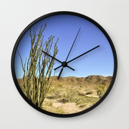 Ocotillo Wall Clock