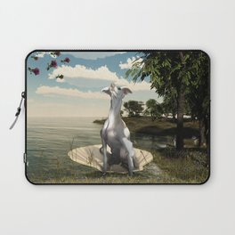 The birth of a greyhound Laptop Sleeve