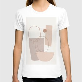 Abstract Shapes No.21 T-shirt