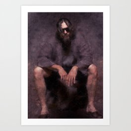 Big Lebowski - the Dude Art Print