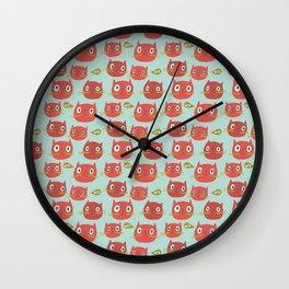 Pattern Project #32 / WTF Cats Wall Clock