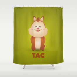 Dale (Tac french) Shower Curtain