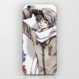 Posing Russia iPhone Skin