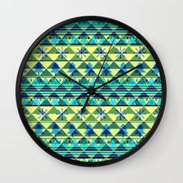 Christmas pattern III Wall Clock