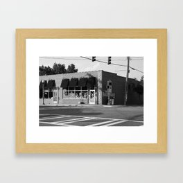 The Boulevard B&W Framed Art Print