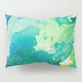 Environmental Importance, Deep Sea Water Bubbles Pillow Sham
