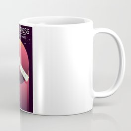 Mars Express - Exploration of Mars Space Art. Coffee Mug