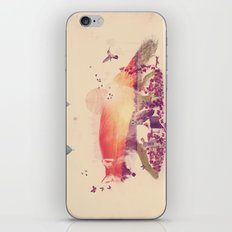 Woodlands Fox iPhone & iPod Skin